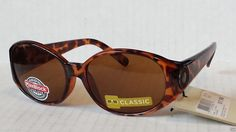 #men Foster Grant women oval brown sunglasses 100% UV protection tortoise brown withing our EBAY store at  http://stores.ebay.com/esquirestore