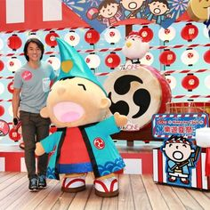 Any fans of Minna no Tabo (大口仔) here? Do you know Ekin Cheng (鄭伊健) is one of his fans too? Minna no Tabo, his family and friends with colorful Japanese traditional costume are now at The ONE for this Japanese Summer Festival with decorations until 31 AUG.  #allabouthongkong