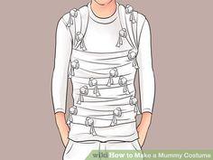 Image titled Make a Mummy Costume Step 16