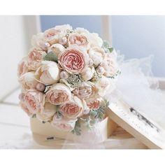 Bouquet DECO(ブーケデコ):ブーケデコのオールドローズブーケ