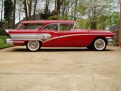 1958 Buick Special Estate Wagon