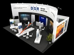 DSR exhibition stand, 2014 on Behance Pop Design, Stand Design, Display Design, Design Ideas, Exhibition Stall Design, Exhibition Display, Exhibition Stands, Exhibit Design, Booth Decor