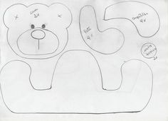 Molde de ursinho