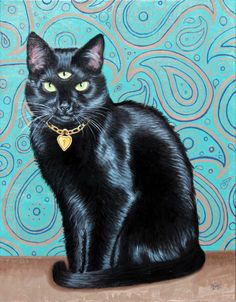 Made by: Dustin Myers - (Black Cat with three Eyes) for sure one of my favo's !