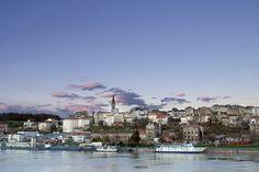 Sava river Belgrade Serbia
