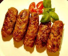Chevapchichi (Serbian/Croatian Sausages)
