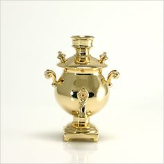 The Faberge 18K Gold Miniature Samovar Tea Urn   eBay