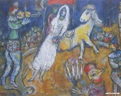 Prints by Marc Chagall Circus | Marc Chagall Oil Paintings Reproductions On Artclon | Marc Chagall Oil ..