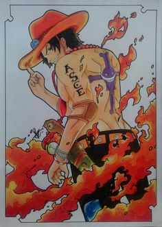 Portgas D. Ace - Whitebeard Pirates