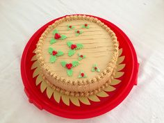 Christmas Mocha Cake