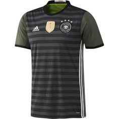 Tyskland 2016 Udebanetrøje Kortærmet.  http://www.fodboldsports.com/tyskland-2016-udebanetroje-kortermet-1.  #fodboldtrøjer