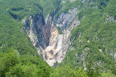 Boka waterfall, Bovec, Slovenia