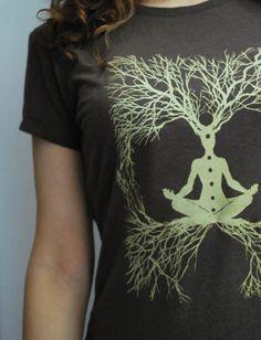 Womens Medium Bamboo and Organic Cotton tshirt by TheLotusRoot, $36.00