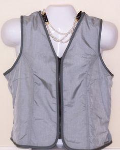 Ladies - Classic Vest - Silver