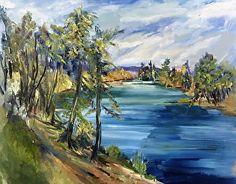 Marilyn Froggatt - Work Detail: Rogue River Bend