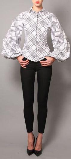 NEW The Tia Shirt Choose Your Sleeve by DemestiksNewYork on Etsy