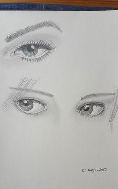 göz ,gözler,sanat,karakalem