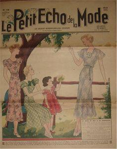 Back Loop 2 : Le petit Echo de la Mode (1937) | in the loop - Le webzine des arts de la laine