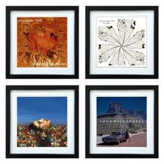 The Pineapple Thief | Framed Album Art Set of 4 Images | ArtRockStore