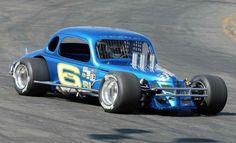 Vintage Supermodified Race Car (#6)