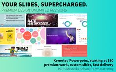 create a clean powerpoint or keynote presentation in 20 hrs by designtechy