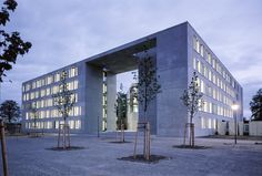 Bumiller Architekten » Land- und Amtsgericht Frankfurt Oder