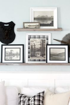 Easy Gallery Wall Update With Picture Ledges