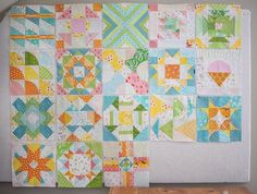 We've arrived at Week 18 (out of 20) in the Summer Sampler 2016 quilt along. The cool morning temperatures outside are a good clue that we are nearing the end of this project. This week's block, Holla