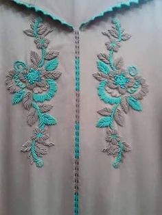 Whatsup no 8766274585 Hand Embroidery Dress, Kurti Embroidery Design, Folk Embroidery, Embroidery Fashion, Hand Embroidery Designs, Beaded Embroidery, Embroidery Stitches, Embroidery Patterns, Machine Embroidery