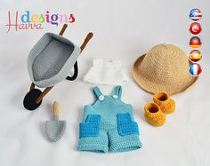 PATTERN   Tommy The Gardener Clothes and Accessories. Just