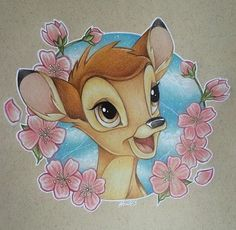 My Disney drawing - ambi& all done! 😊🌸 Please credit me if you rebook one of my artworks . My Disney drawing – ambi& all done! 😊🌸 Please credit me if you rebook one of my artwo Cute Disney Drawings, Disney Sketches, Cartoon Drawings, Animal Drawings, Cute Drawings, Bambi Disney, Walt Disney, Disney Tattoos, Bambi Tattoo