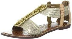 Sam Edelman Women's Gatsby Gladiator Sandal,Light Gold/Natural,8.5 M US Sam Edelman. $124.75