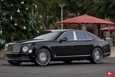 Bentley Mulsanne On 24-Inch Lexani Forged Wheels