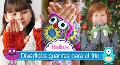 Divertidos guantes para niños