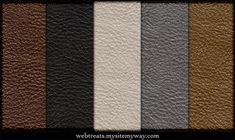 Free Tileable Leather Patterns by WebTreatsETC.deviantart.com on @deviantART