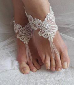 barefoot sandals wedding shoes summer shoesbeach