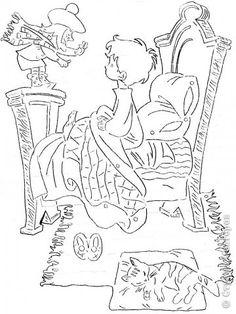 Картина панно рисунок Вырезание Вилли Винки Бумага фото 2