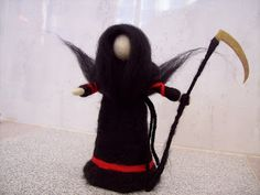 La Muerte Elves, Fairies, Handmade, Faeries, Death, Hand Made, Fairy, Elf, Fairy Art