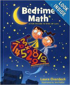 Bedtime Math: Laura Overdeck, Jim Paillot: 9781250035851: Amazon.com: Books