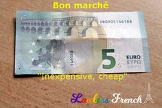 - lesson on the French expression bon marché. French Expressions, Idiomatic Expressions, French People, Teacher Boards, Silent Film, Learn French, French Language, Vocabulary