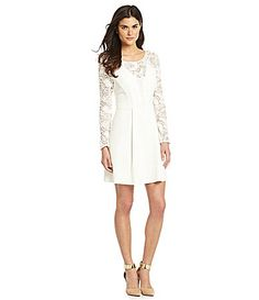 Gianni Bini Juliet Lace Fit-and-Flare Dress...Graduation dress!