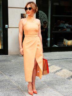 Oho, J.Lo!Ein wirklich eleganter Look, den Jennifer Lopez hier inNew York trägt.