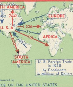 foreign trade, 1938 / CSA Flatfiles