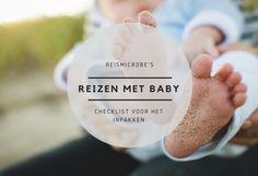 Reizen met baby inpaklijst: een checklist om het inpakken gemakkelijker te maken