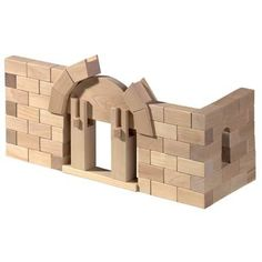 Wooden Roman Arch Building Blocks by Haba by Haba Toys Arch Building, Wooden Building Blocks, Big Building, Wooden Blocks, Godly Play, Learning Toys For Toddlers, Toddler Learning, Stacking Blocks, Save From Instagram