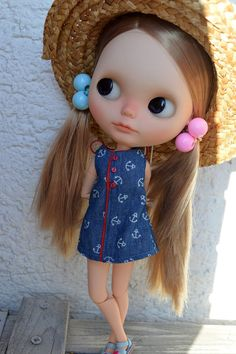 RESERVED ~~~~~~~~~~~~OOAK Custom Blythe doll June