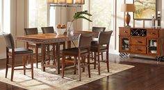 Whitley Island Dining Tableecifurniture  Dream House Pleasing Counter Height Dining Room Design Ideas