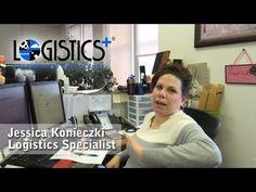 Jessica Konieczki - one of the people who power the plus in Logistics Plus.