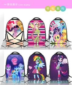 2016 New Fashion Cartoon bags child Backpack Pony schoolbag children quality school backpacks Free Shipping primary school bag-in School Bags from Luggage & Bags on Aliexpress.com | Alibaba Group Kids Backpacks, School Backpacks, Cheap School Bags, Cartoon Bag, Primary School, Luggage Bags, My Little Pony, Alibaba Group, New Fashion