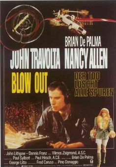 Blow Out, 1981 - German poster